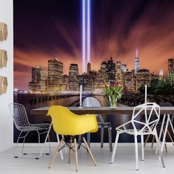 City Lights Photo Wallpaper Mural