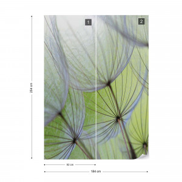 Dandelion Macro Nature Photo Wallpaper Wall Mural