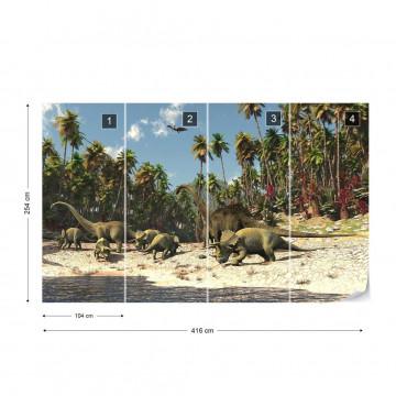 Dinosaurs Photo Wallpaper Wall Mural