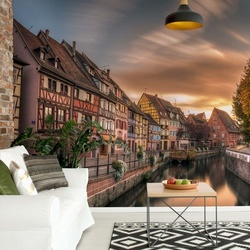 Fall In Colmar Photo Wallpaper Mural