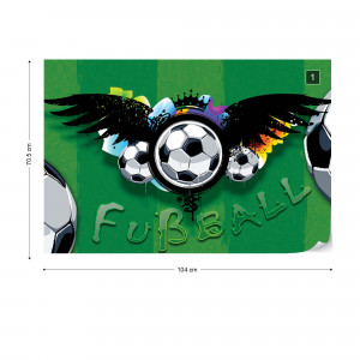 Football Photo Wallpaper Wall Mural