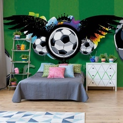 Football Photo Wallpaper Wall Mural