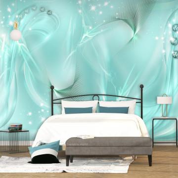 Fototapet autoadeziv - Enchanted Turquoise