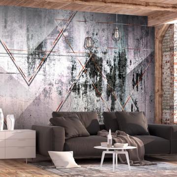 Fototapet autoadeziv - Geometric Wall