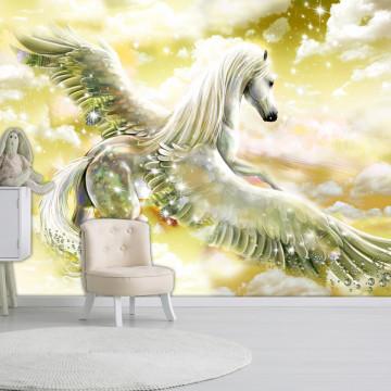 Fototapet autoadeziv - Pegasus (Yellow)