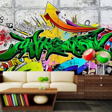 Fototapet autoadeziv - Urban Graffiti