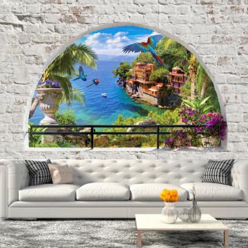 Fototapet autoadeziv - Window in Paradise