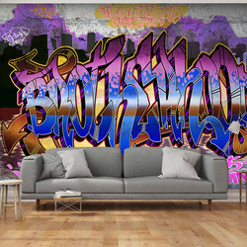 Fototapet -  Colorful Mural