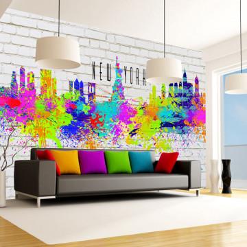 Fototapet - Colors of New York