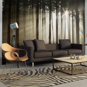 Fototapet - Coniferous forest
