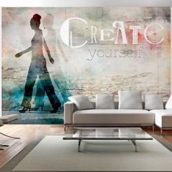 Fototapet - Create yourself