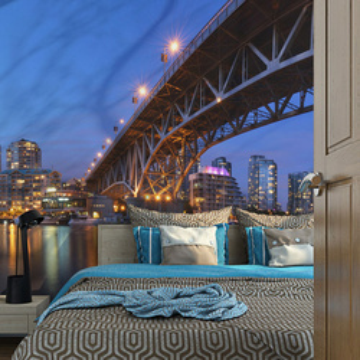 Fototapet - Granville Bridge - Vancouver (Canada)
