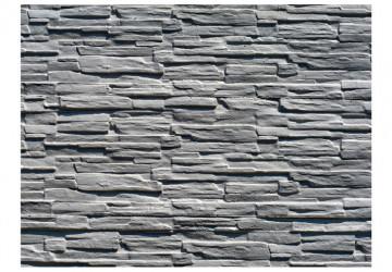 Fototapet - Grey stone wall