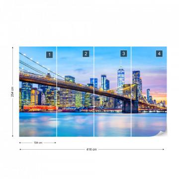 Fototapet - Podul Brooklyn NYC