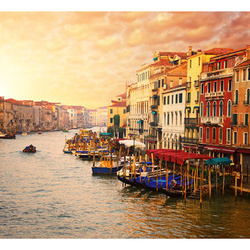 Fototapet - Venice - The Colorful City on the Water