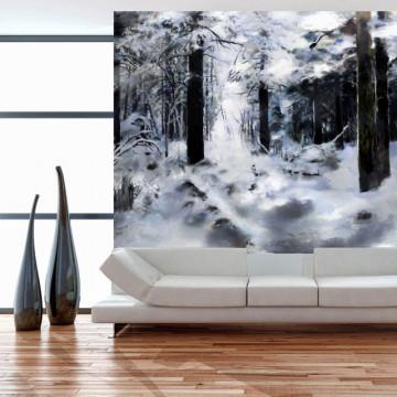 Fototapet - Winter forest