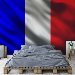 French Flag France Photo Wallpaper Wall Mural
