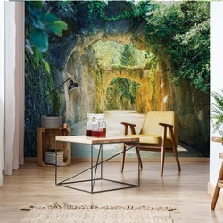 Garden Tunnel Photo Wallpaper Wall Mural