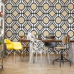 Geometric Pattern Photo Wallpaper Wall Mural