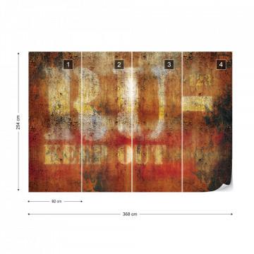 Grunge Metal Rust Texture Photo Wallpaper Wall Mural