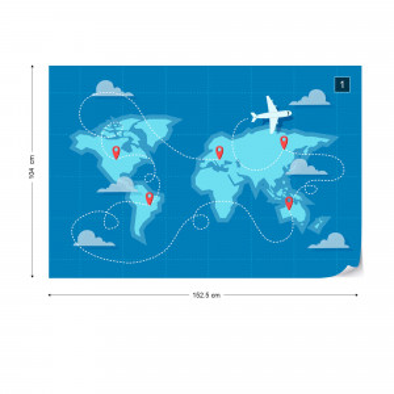 Harta Lumii – Călătorie cu Avionul