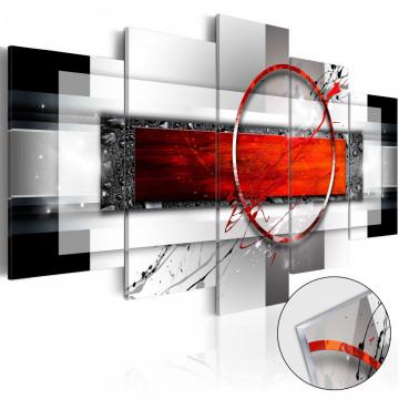 Imagine pe sticlă acrilică - Carmine Missile [Glass]