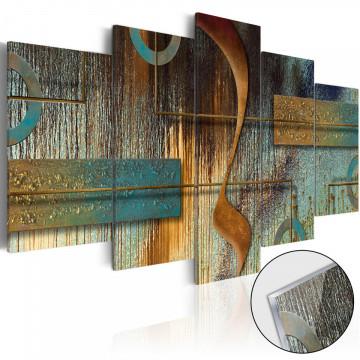 Imagine pe sticlă acrilică - Exotic Note [Glass]