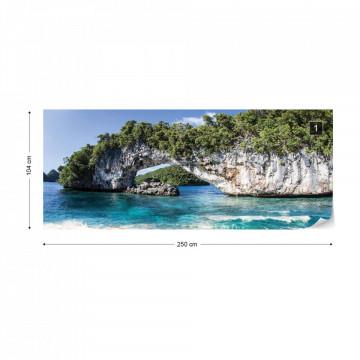 Island Beach Photo Wallpaper Wall Mural