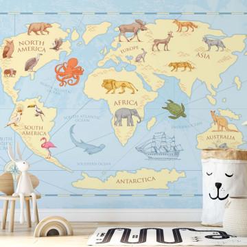 Kids Classic World Map