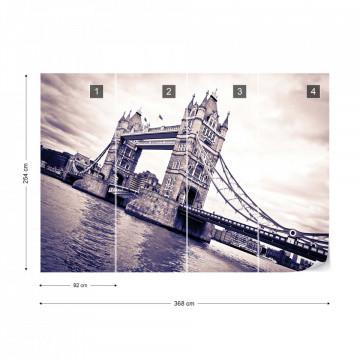 London Tower Bridge Photo Wallpaper Wall Mural