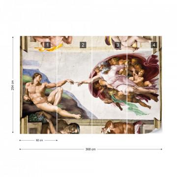 Michelangelo Painting Photo Wallpaper Wall Mural