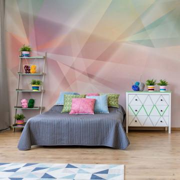 Modern Abstract Art Prism Photo Wallpaper Wall Mural