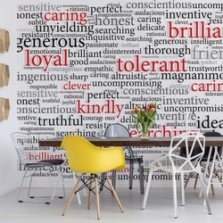 Motivational Words Photo Wallpaper Wall Mural