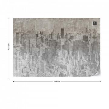 New York City Grunge I Mono