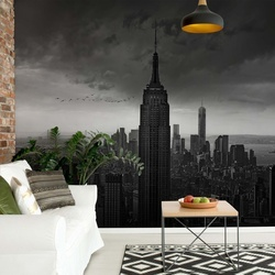New York Rockefeller View Photo Wallpaper Mural