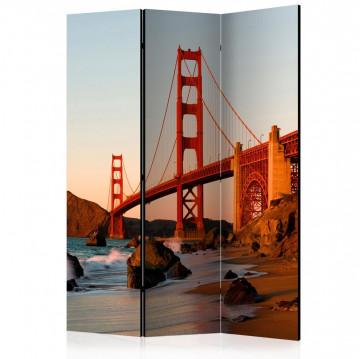 Paravan - Golden Gate Bridge - sunset, San Francisco [Room Dividers]
