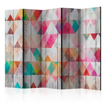 Paravan - Rainbow Triangles II [Room Dividers]