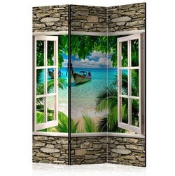 Paravan - Tropical Beach [Room Dividers]