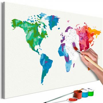 Pictatul pentru recreere - Colours of the World