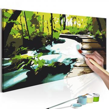 Pictatul pentru recreere - Footbridge