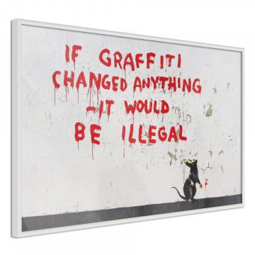 Poster - Banksy: If Graffiti Changed Anything