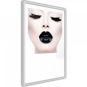 Poster - Black Lipstick