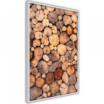 Poster - Log Pile