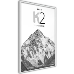 Poster - Peaks of the World: K2