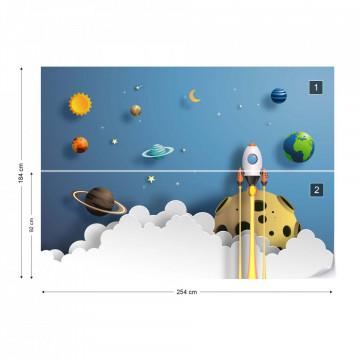Rocket Away Papercut Series
