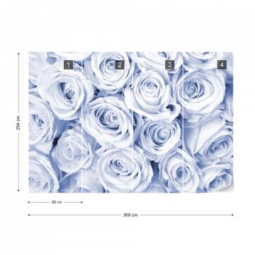 Rose Bouquet Blue