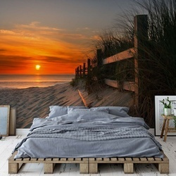 Sandbridge Sunrise Photo Wallpaper Mural