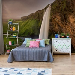 Seljalandsfoss Iceland Photo Wallpaper Mural
