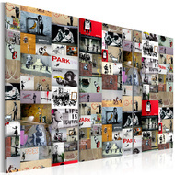 Tablou - Art of Collage: Banksy III