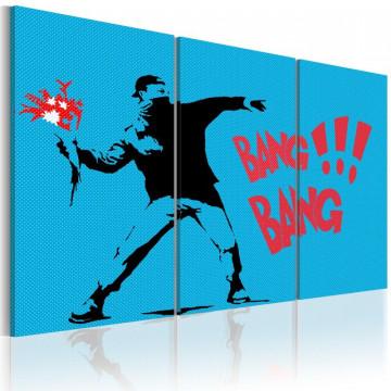 Tablou - Bang bang! - triptych
